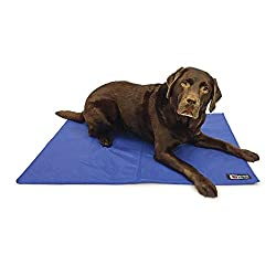 Cooling mattress to keep pets cool in the warmer months Can be used as a stand-alone mattress or on a pets current bed Made with a hard wearing fabric Can simply be wiped clean with a damp cloth Available in three sizes; 40x50cm, 50x90cm and 76x102cm
