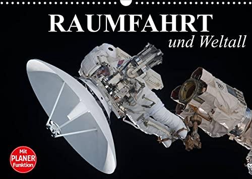 Raumfahrt und Weltall (Wandkalender 2022 DIN A3 quer)