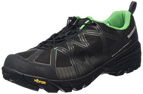SHIMANO Shimano Erwachsene MTB Schuhe SPD SH MT 54, Schwarz/Grau, 40