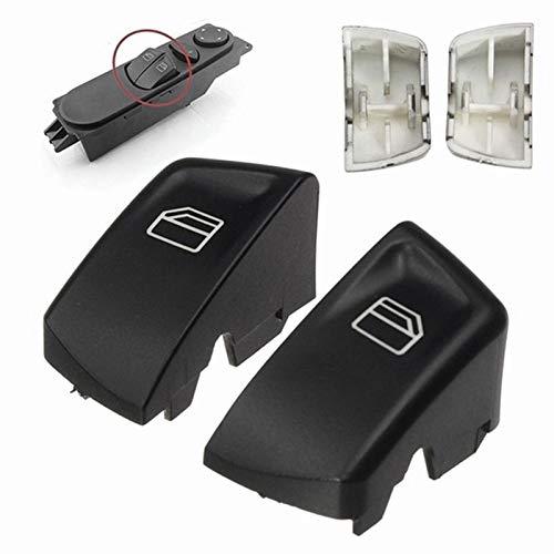XGLAI 1 par del automóvil Control eléctrico Control de la Ventana Interruptor de Encendido Botón de Empuje para Mercedes Sprinter Vito Viano Izquierda + Derecha (Color Name : Black)