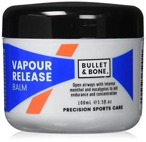 Bullet & Bone Menthol Vapour Release Balm, Vegan Friendly 100 ml