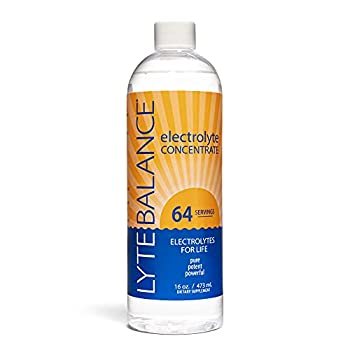 Lyte Balance Electrolyte - 64 Servings Healthy Hydration Keto Paleo Clean Electrolytes Triple The Potassium + Magnesium and Sodium Electrolytes for Rapid rehydration and Daily Hydration.