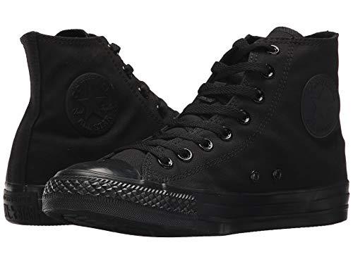 Converse Chuck Taylor All Star High Top Sneaker, Schwarz (Schwarz (einfarbig)), 40 EU