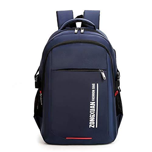 Donykarry Rucksack für Reisen, Laptop, Laptop, große Kapazität, Bedruckt, Multifunktions-Rucksack, USB, für Studenten, USB-Aufladung, blau, 30 * 45 * 14cm(11.8 * 17.7 * 5.5in)