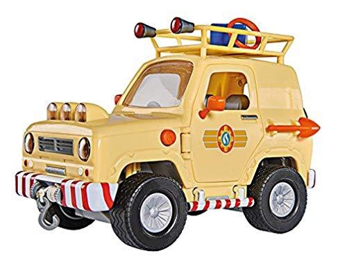 Smoby - Sam le Pompier - 4X4 - Portes et Coffre Ouvrants - Fonctions Lumineuses - 109251001002
