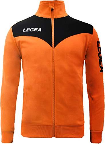 My Custom Style Solo Giacca Legea Peru S Arancio-Nera. Senza Stampe