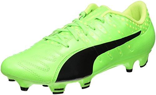 Puma Herren EvoPower Vigor 3 LTH FG Fußballschuhe, Grün (Green Gecko Black-Safety Yellow 01), 41 EU