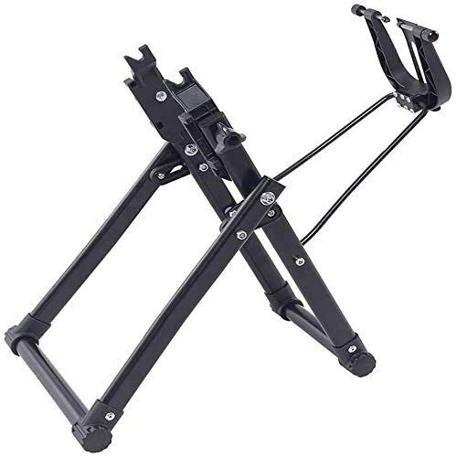 CAISYE Multifunction Tools, Bike Wheel Truing Stand, Bike/Bicycle Tire Truing Stand, Foldable Home Mechanic Truing Stand Suitable for 16' - 29' 700C Wheels, Professional Bicycle Rim Maintenance Tool