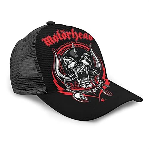 YooHome Motörhead - Gorras de béisbol lavables y transpirables para hombre y mujer, color negro