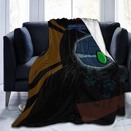 Ben 10 Super Soft Sheep Blanket, geeignet für Erwachsene oder Kindersofa oder Bett