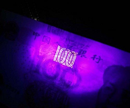 Uv Lamps Led Flashlight 18650 Ultraviolet Lamp R5 Jade Identification Lights Purpl Yellow White 3 In 1 Light Jewelry…