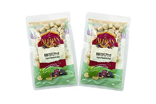 無添加 有機マカデミアナッツ 70g×2袋 ★ コンパクト薄型 ★ パルミトレイン酸も、オレイン酸と同じ不飽和脂肪酸です。 ナッツの中でも特にマカダミアナッツに多く含まれる脂肪酸で、その含有量はトップレベルです。