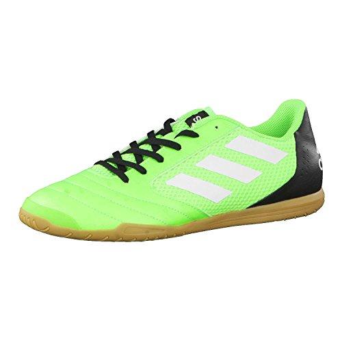 adidas Ace 17.4 Sala, Scarpe da Calcetto Uomo, Verde (Versol/Ftwbla/Negbas), 41 1/3 EU