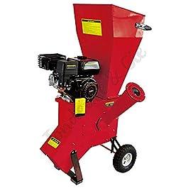 Broyeur de jardin pour végétaux diamètre max 76mm moteur thermique 212cc 5,6 cv LEA LE56212