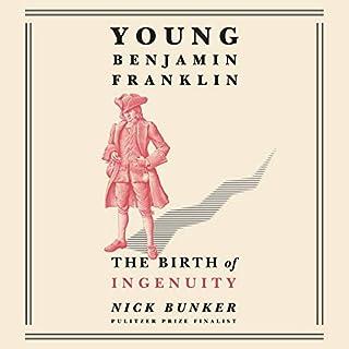 Young Benjamin Franklin audiobook cover art