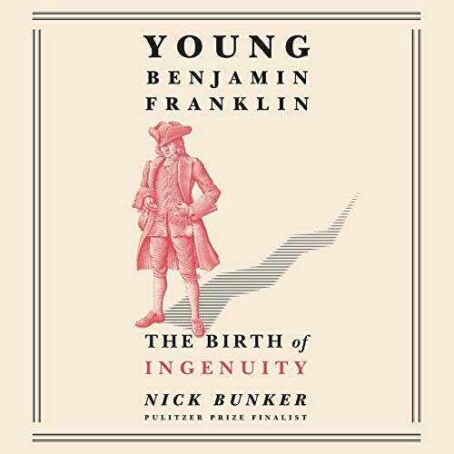 Young Benjamin Franklin audiobook cover art
