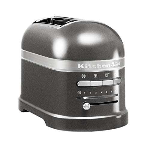 KitchenAid - 5KMT2204EMS - Grille-pains, 1250 watts, Gris