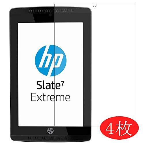 Vaxson 4 Stück Schutzfolie kompatibel mit HP Slate 7 Extreme 7