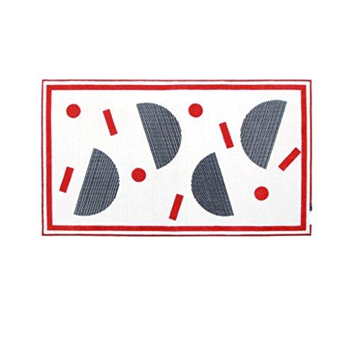 Young baby Tapis de Couleur Style scandinave Enfantin Simple Moderne Salon Tapis rectangulaire 100 * 170cm