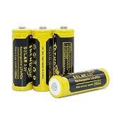 Trendbox 14430 3.2V 450mAh Battery LiFePo4 Rechargeable Solar Batteries for Outdoor Garden Light 4...
