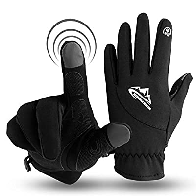 Innens Winter Gloves, Touch Screen Thermal Flexible Gloves Liner for Men and Women, Warm Hands in Cold Weather (Medium)