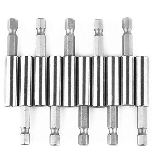 Timagebreze Paquete de 10 Portabrocas de ExtensióN MagnéTica para Herramientas EléCtricas Hexagonales de 1/4 Pulgada