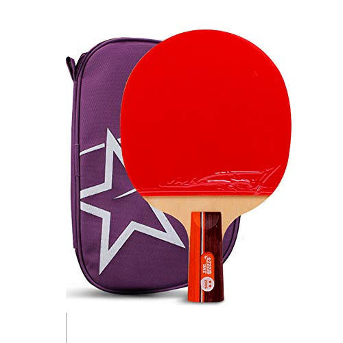Affordable SSHHI Table Tennis Bats, Suitable for Beginners, Home Table Tennis Paddle,Solid/As Shown/...
