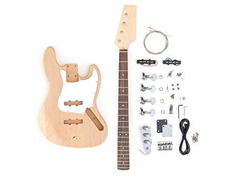 DIY Electric Bass Guitar Kit - J Bass Build Your Own
