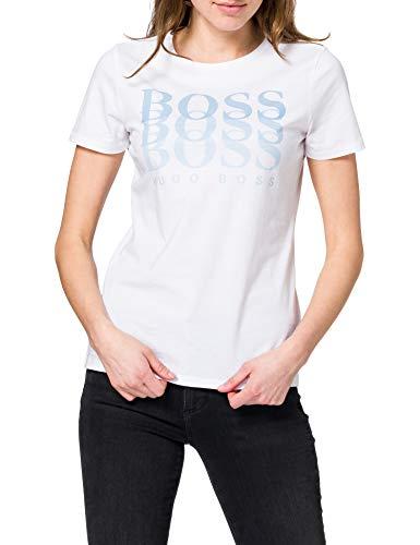 BOSS C_eloga1 10228667 01 Camiseta, White100, L para Mujer