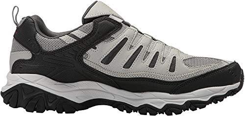 Skechers Sport Men's Afterburn Extra Wide Fit Wonted Loafer,black/charcoal,10 4E US