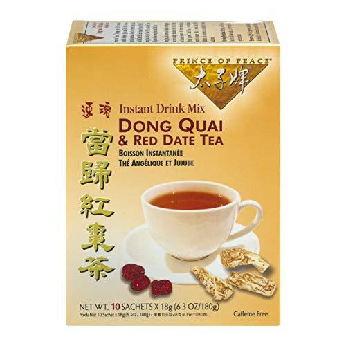 Prince Of Peace Prince of Peace Dong Quai & Red Datum Instant-Tee 10 Teebeutel (4 Stück)
