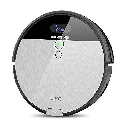 ILIFE ILIFE0005-ES Aspirador V8S Robot Piso de Barrido y Fregado con Tanque de Agua, 5 Modos de Limpieza, Plástico, Multicolor