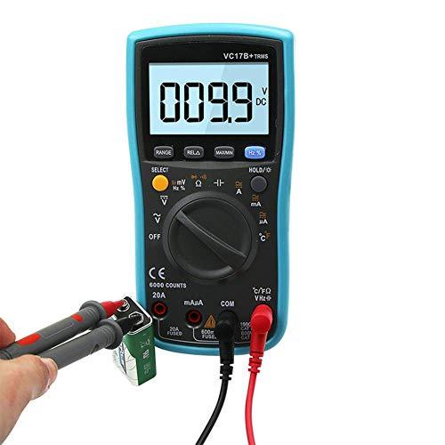 WY-YAN RMS real de temperatura automático de frecuencia de resistencia de tensión de multímetro digital Preciso