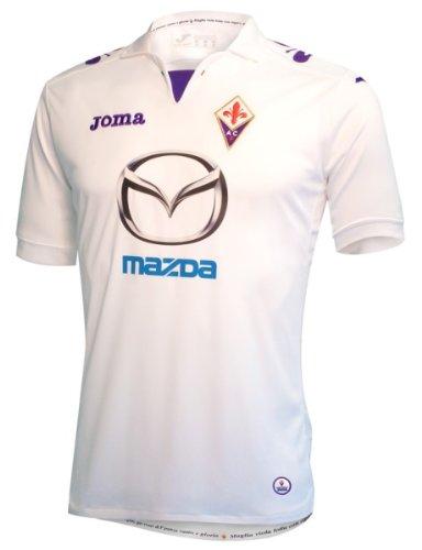 Joma Fiorentina Away Trikot FL101012.13 Weiss S M L XL XXL, Textilien Größen:XXL