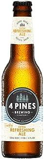 "4 Pines Extra Refreshing Ale ""freshy"" Extra Refreshing Ale Bottle 330mL Case of 24"