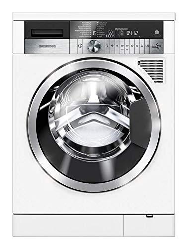 Grundig GWD 59405 Waschtrockner/ 1400 U/min/ 9 kg Waschen/ 6 kg Trocknen/ 6 kg Wash&Dry/ Imprägnier-Programm/ Eco-Luftkondensation/ WaterProtect+