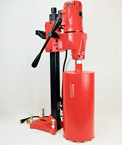 NEW 8' Z-1 BLUEROCK Tools CORE DRILL W/STAND CONCRETE CORING