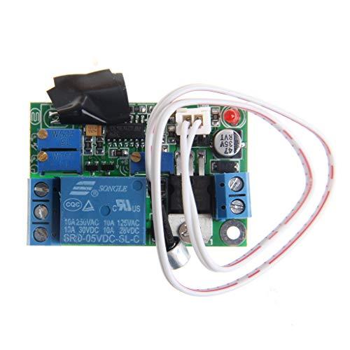 Modulo di controllo della luce del suono relè interruttore di ritardo sensore regolabile 5V 12V 24V