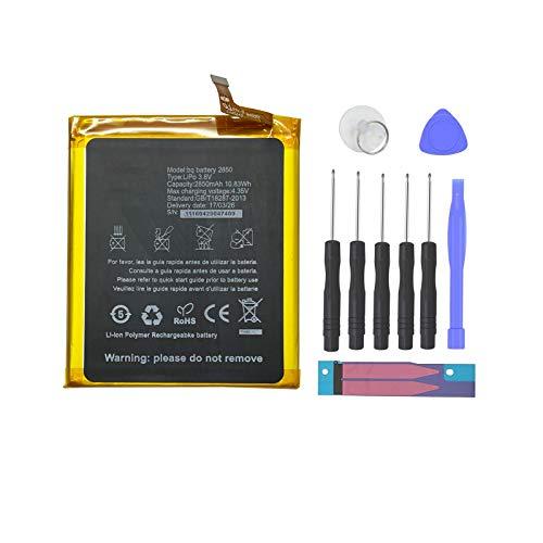 Pattaya BQ 2850 Bateria Compatible con BQ Aquaris E5 Kit de Recambios