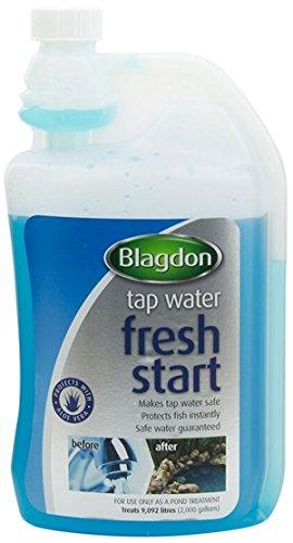 Interpet 2671 Blagdon Fresh Start, vloeibare waterbehandeling voor de eerste vijvervulling, groot