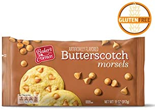 Baker's Corner Gluten-Free Butterscotch Morsels Chips for Baking, Toppings - 11 oz.
