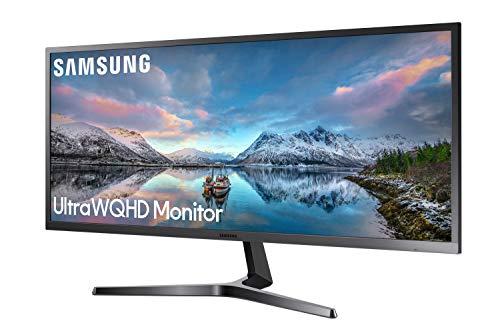 Samsung LS34J550WQU LED Display 86, 6 cm (34.1 Zoll) Ultra WQHD flach - Computerbildschirme (86, 6 cm (34.1 Zoll), 3440 x 1440 Pixel, Ultra WQHD, LED, 4 ms, Schwarz)