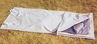 SNOWCREST Sleeping Bag Cover/Cowboy's Bedroll Tarp Waterproof Light Green Marine Canvas