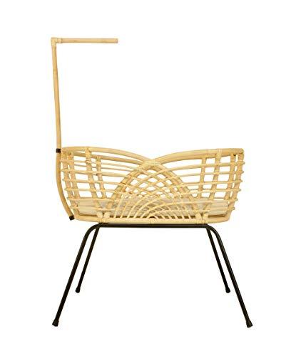 Roma - Natural rotan bassinet, wieg, wiege, cot, babybett