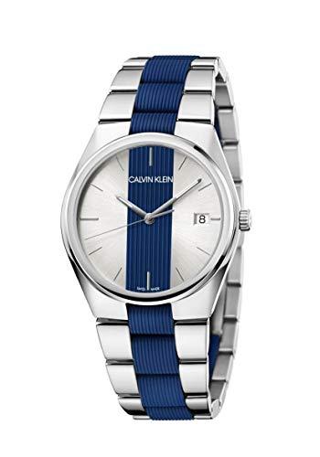 Calvin Klein Contrast K9E211VX Reloj de Pulsera para Hombres