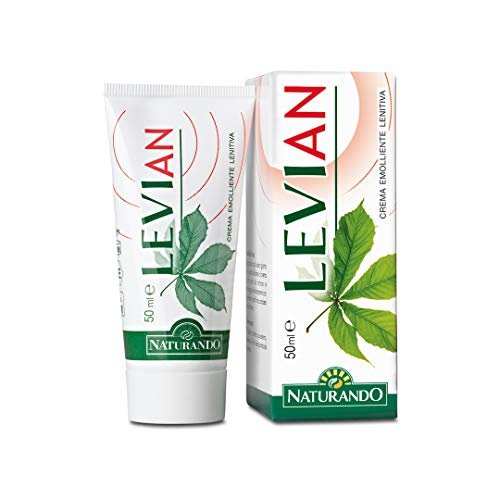 Naturando - Levian Crema 50 Ml - Crema Emoliente Para La Irritación De Las Venas Hemorroidales