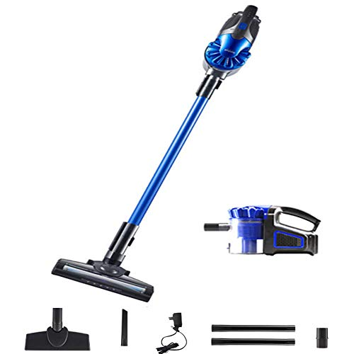 Great Features Of LAHappy Cordless Stick Vacuum Cleaner, 2 in 1 Handheld Vacuum with 150W Suction Po...