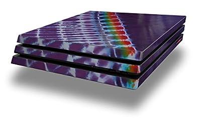 WraptorSkinz PS4 Pro Skin Tie Dye Alls Purple - Decal Style Skin Wrap fits Sony PlayStation 4 Pro Console