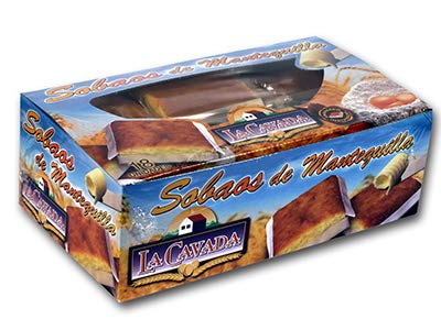 Sobaos pasiegos de mantequilla Loidi Cavada de Guriezo (Cantabria) - Caja 18 unidades - 2700 gramos