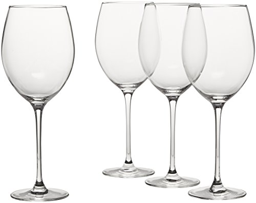 Lenox L6099790-000 Tuscany Classics Grand Bordeaux Glasses, Clear
